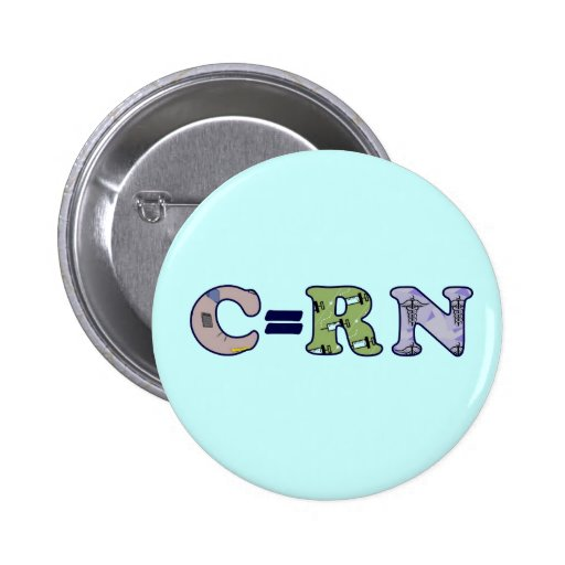 C Student Nurse Button