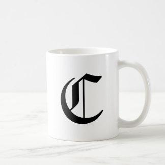 C-text Old English Mug