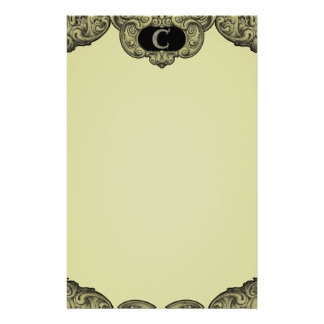 C - The Falck Alphabet (Golden) Stationery Paper