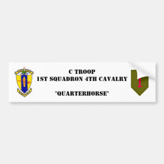 C-Troop Bumper sticker