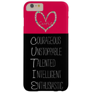 C.U.T.I.E. Heart Barely There iPhone 6 Plus Case
