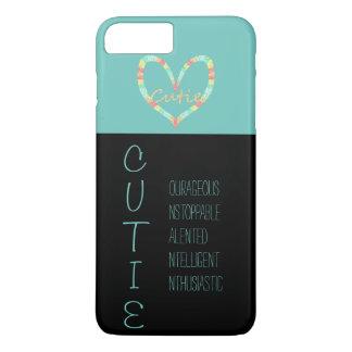 C.U.T.I.E. Heart iPhone 7 Plus Case