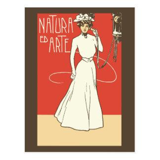 ca 1900 Vintage Italian Ladies' Fashion Postcards