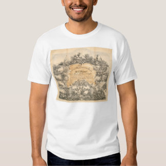CA. Agricultural Society Certificate (0058A) T-shirts