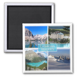 CA * Canada - The Canadian Rockies Magnet