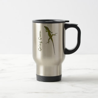 CA- Going Green Artsy Lizard Travel Mug