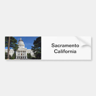CA state capitol building - Sacramento Bumper Sticker