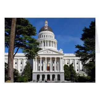 CA state capitol building - Sacramento Card