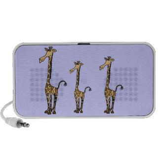CA- Whimsical Giraffes Speakers