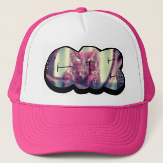 CAB VASQUEZ Wise  Owl Throw Up Trucker Hat