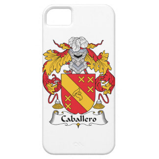 Caballero Family Crest iPhone 5 Cover
