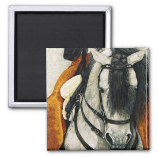 Caballero - Spanish Stallion Square Magnet