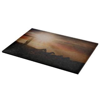 Caballo Sunset Cutting Board Western Horse