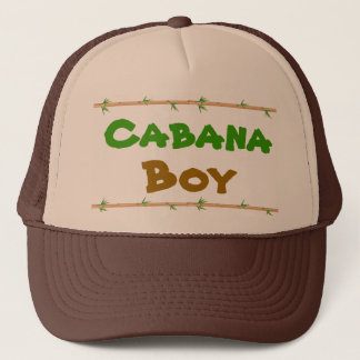 Cabana Boy hat with bamboo
