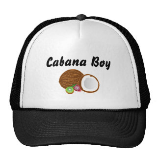 Cabana Boy with coconut Hat