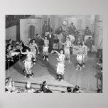 Cabaret Dancers, 1941 Poster