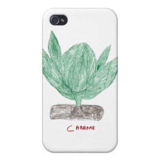 Cabbage Cover For iPhone 4