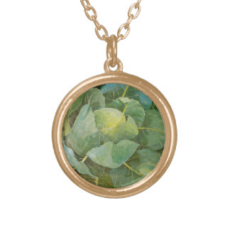 Cabbage Gold Plated Necklace