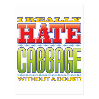 Cabbage Hate Post Cards