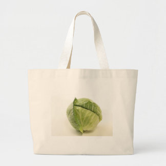 cabbage jumbo tote bag