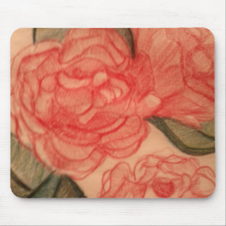 Cabbage Rose  1 Mouse-pad Mouse Pad