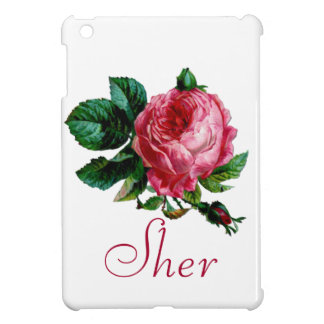 Cabbage Rose iPad Cover