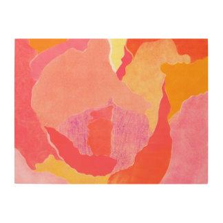 Cabbage Rose IV Wood Print