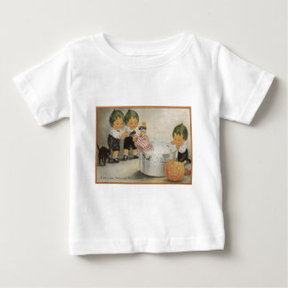 Cabbagehead Jack O' Lantern Black Cat Baby T-Shirt