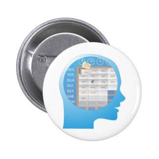 cabeçaXX compartimentado brain days of the week Pins
