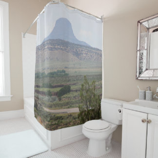 Cabezon Peak, New Mexico Shower Curtain