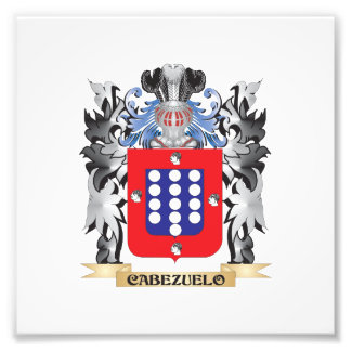 Cabezuelo Coat of Arms - Family Crest Photo Art