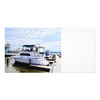 Cabin Cruisers by Founders Park Alexandria VA Photo Greeting Card