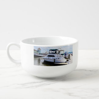 Cabin Cruisers by Founders Park Alexandria VA Soup Mug