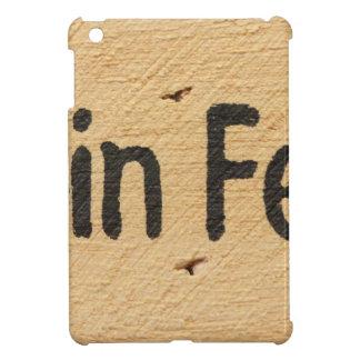 Cabin Fever Sign iPad Mini Cover