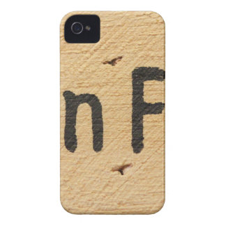 Cabin Fever Sign iPhone 4 Case-Mate Case