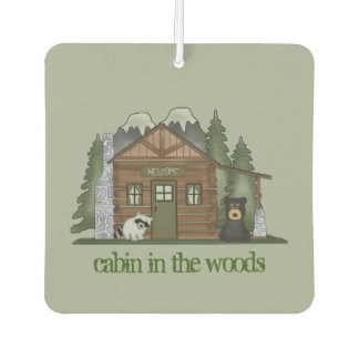 Cabin in the Woods Air Freshener