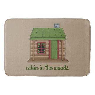 Cabin in the Woods Bath Mat