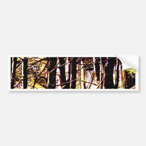 Cabin in the Woods Bumper Stickers