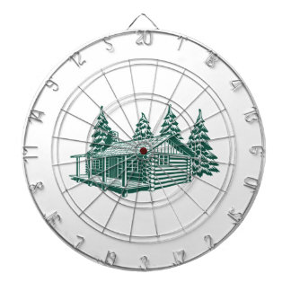 Cabin in the Woods... Dart Boards