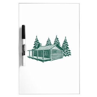 Cabin in the Woods... Dry Erase Board