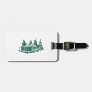 Cabin in the Woods... Luggage Tag
