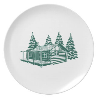 Cabin in the Woods... Plate