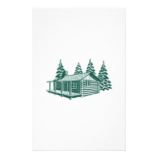 Cabin in the Woods... Stationery