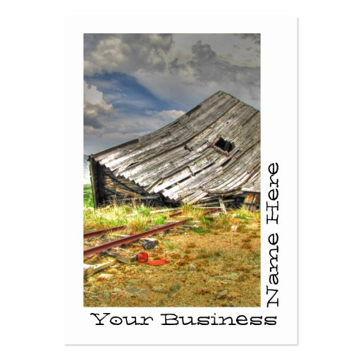 Cabin on the Skids Business Card Template