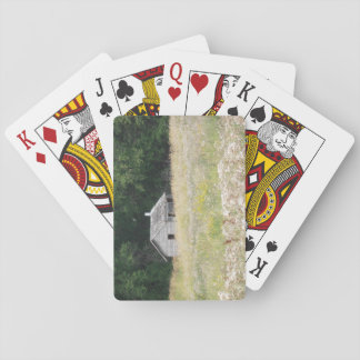 Cabin playing cards
