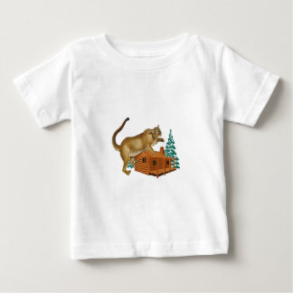 Cabin Pounce Baby T-Shirt