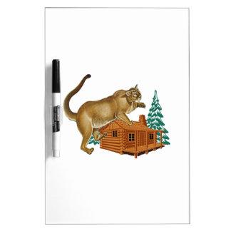 Cabin Pounce Dry Erase Board