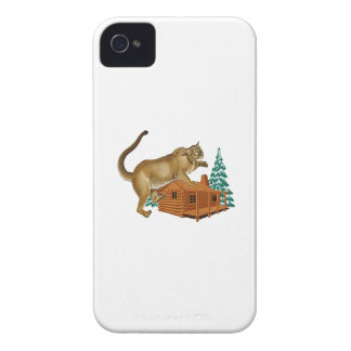 Cabin Pounce iPhone 4 Case