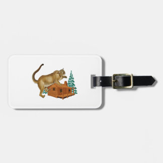 Cabin Pounce Luggage Tag