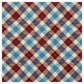 Cabin Tartan~ Tablecloth Fabric